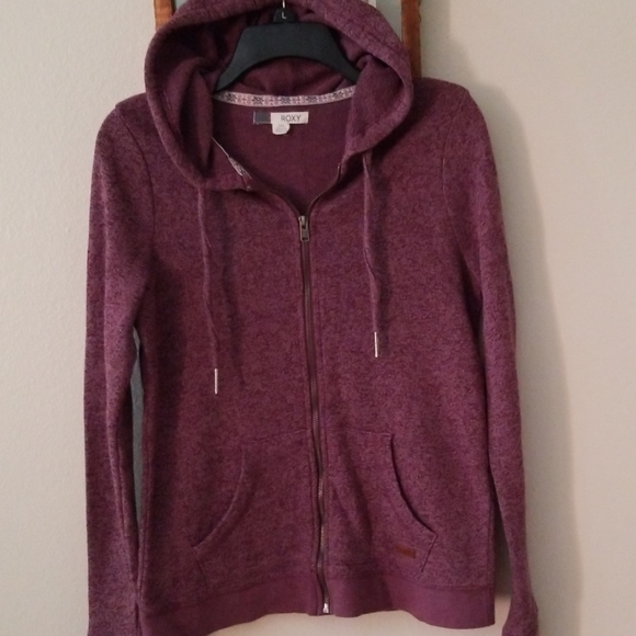 ROXY  Juniors Hooded Sweatshirt - Large